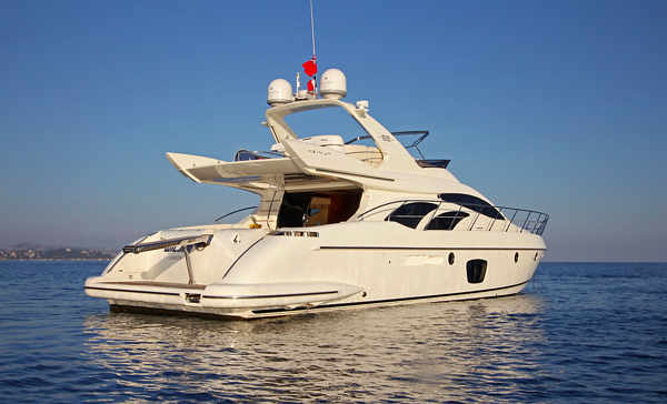 Azimut 62 evo yacht for sale profile 1
