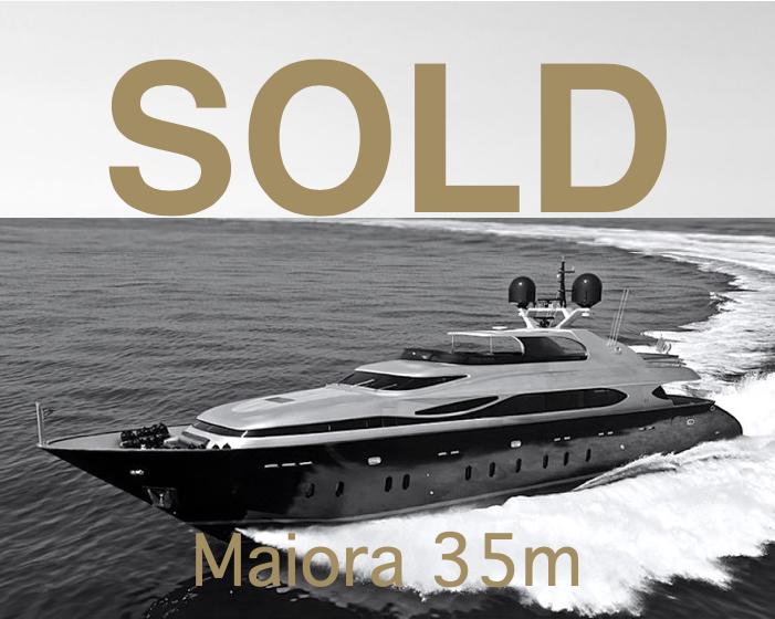 Maiora 35m THEO SOLD by breezeYachting.swiss
