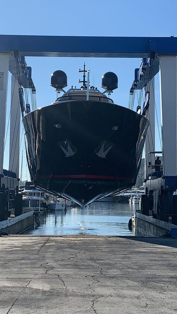 maiora 35m shipyard front
