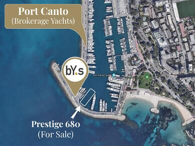 bYs Cannes Show 2021 Port Canto Map