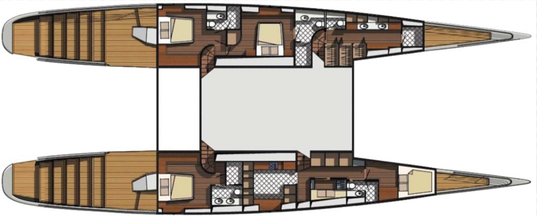 BCY 101 Colored Layout Blue Coast Yachts 00003