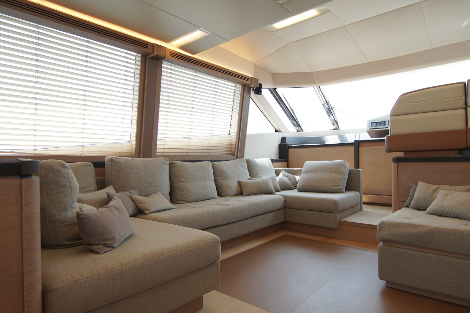 MCY 76 yacht for sale master cabin full