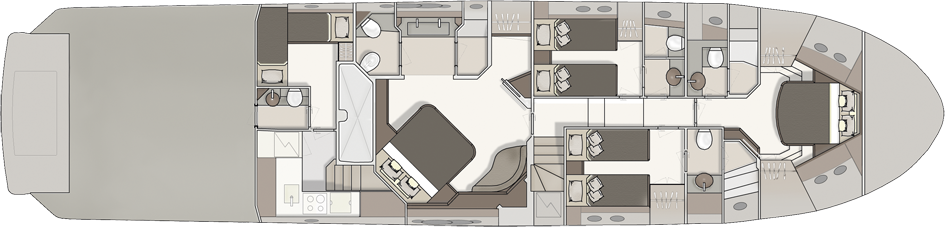 Monte Carlo 76 Yacht For Sale Layout Lower