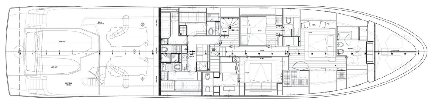 Lower Deck Sanlorenzo 104