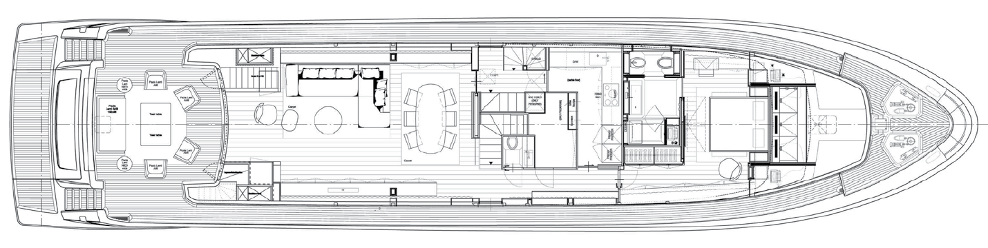 Main Deck Sanlorenzo 104