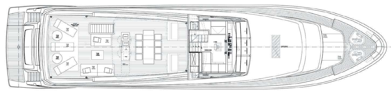 Upper Deck Sanlorenzo 104