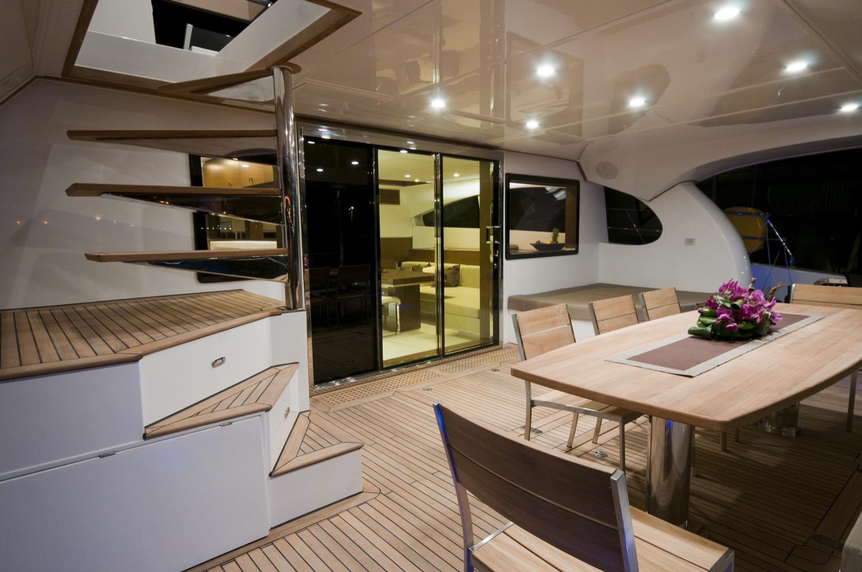 sunreef 70 power yacht for sale cockpit 2