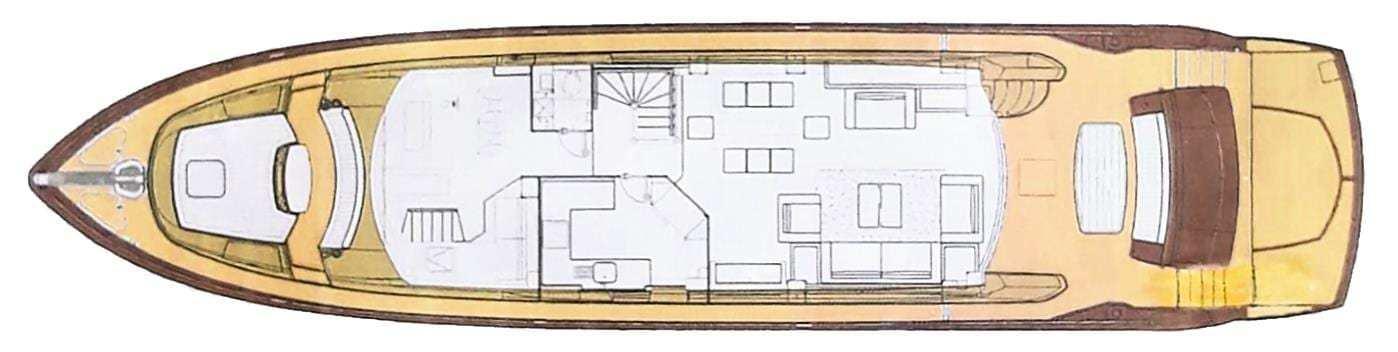 sunseeker 86 main deck